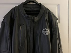 4X Tall Harley Davidson leather jackets Mint Condition $200 for Sale in Palm Beach Gardens, FL