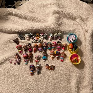 Lol Dolls And Pets 38 Total for Sale in Depew, NY