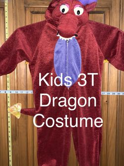 Kids Dragon Costume Size 3T for Sale in San Antonio,  TX