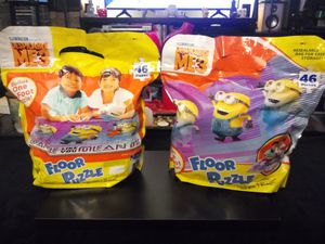 Illumination despicable me floor puzzle game. for Sale in Lakeland, FL