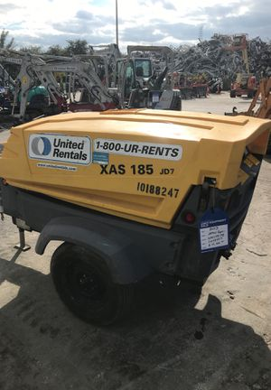 2013 atlas copco 185 air compressor for Sale in Miami, FL