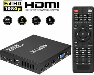 Media Player, 2 HDMI Ports 1080P Full-HD Portable Digital Player, Play Video and Photos with USB Drive/SD for Sale in Fontana, CA