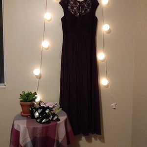 Purple Lace Prom Dress for Sale in Omaha, NE