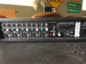 Full PA 4 Speaker System w/ 500 Watt, 5 Channel Behringer Digital Mixer for Sale for sale  Atlanta, GA