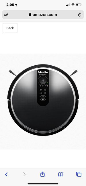 Miele bot vacuum ( commercial grade equipment ) for Sale in Dana Point, CA