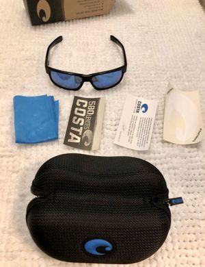 Costa Half Moon 580G Blue Lens Matte Black Frame BRAND NEW for Sale in Miami, FL