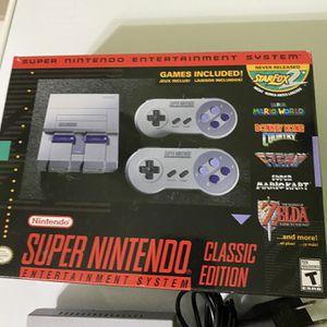 Super Nintendo Classic Edition Mini for Sale in New Hampton, NY