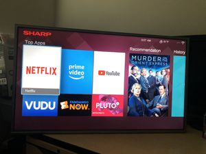 """40"""" SHARP SMART TV for Sale in Federal Way, WA"""
