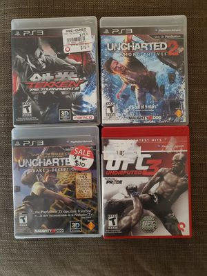 Bundle of PS3 games CHEAP for Sale in Oakland, CA