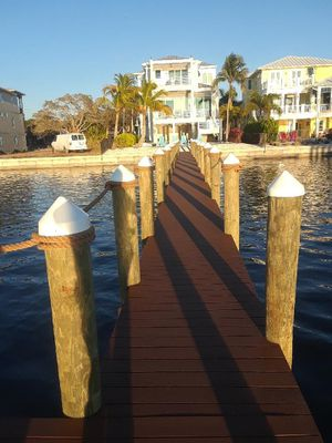 Piling Wraps, Custom Docks and Boat Lifts for Sale in North Fort Myers, FL