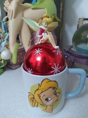 Disneyland Paris Santa Dress Tinker Bell Christmas Ball Ornament for Sale in Los Angeles, CA