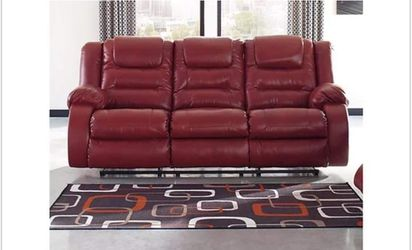 New red reclining couch with loveseat available. for Sale in St. Louis,  MO