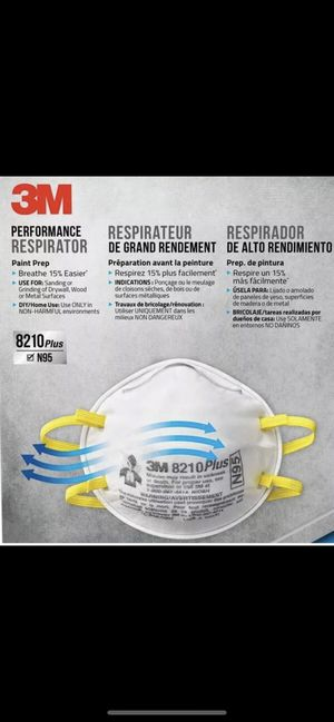 3M N95 face mask for Sale in Cypress, CA