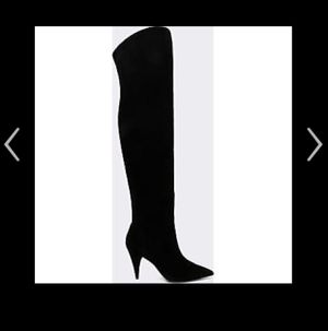 BRAND NEW Aldo Kandice 91 Black Suede Knee Boots size 7.5 retail $220 for Sale in Mountain SPRG, NV