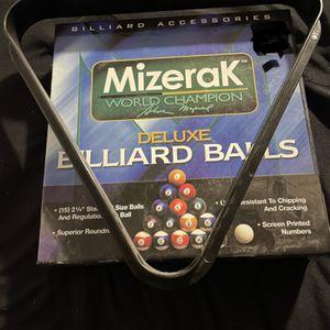 Billiard Set for Sale in Bakersfield, CA