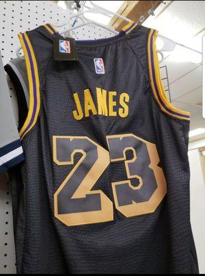 24c2c68adc8 LA Lakers - LeBron James - Black Jersey XL for Sale in San Antonio
