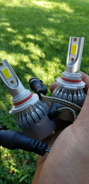 Led Headlight Kit With Free Pair Of License Plate Lights for Sale in Ontario, CA