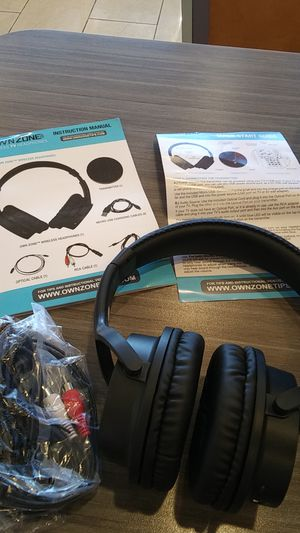 Own zone headphones for Sale in San Angelo, TX