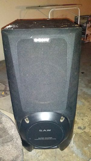2 sony subwoofers for Sale in Green Bay, WI