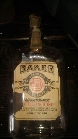 Antique Bottle Pre Prohibition for Sale in Long Beach, CA