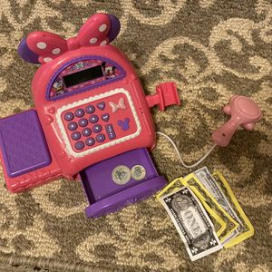 Minnie Mouse Cash Register Toy for Sale in Hollywood, FL