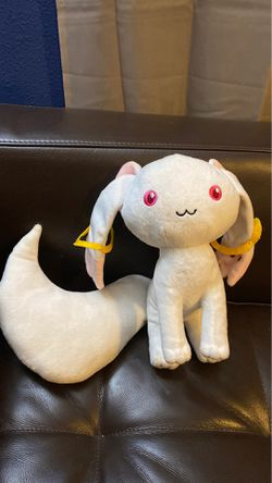 Anime Madoka Magica QB-Kyubey Plushie Cat for Sale in Puyallup,  WA