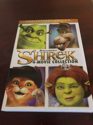 Shrek 4-Movie Anniversary Collection for Sale in East Providence, RI