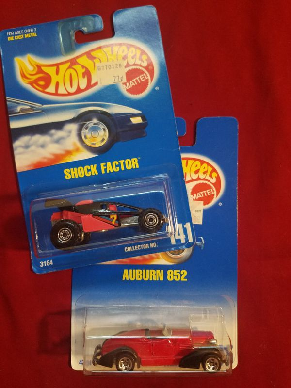 Hot Wheels Shock Factor and Auburn 852