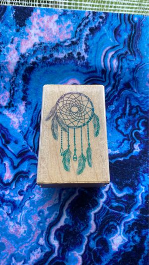 Dream catcher rubber stamp for Sale in Bowie, MD