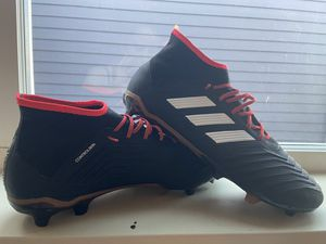 Adidas Predator 18.2 FG Soccer Cleats Size 10.5 for Sale in Seattle, WA