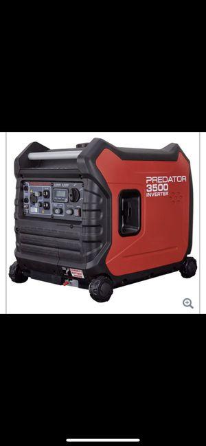 3500 Watt Super Quiet Predator Generator for Sale in Washington, DC