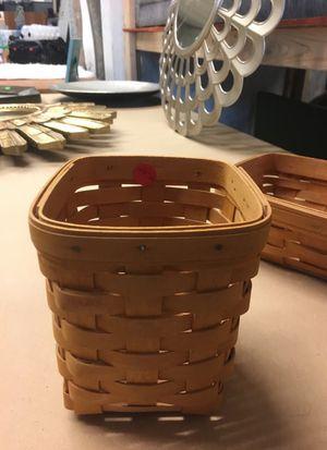 Longaberger silverware basket for Sale in Lynnwood, WA