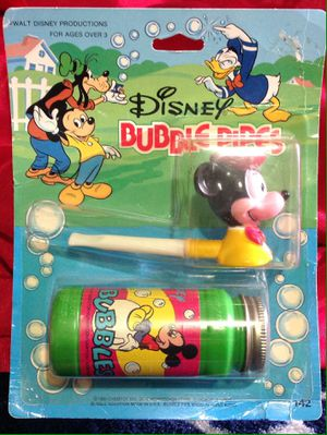 Vintage 1982 Disney Mickey Mouse Bubble Pipe NOS Never Opened for Sale in La Vergne, TN