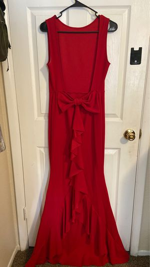 Long Red Dress for Sale in Las Vegas, NV