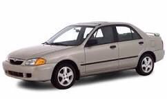 Gold 2000 Mazda Protege for Sale in Cleveland, OH