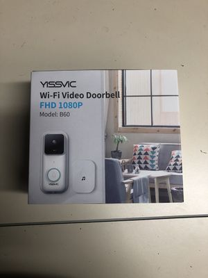 Yissvic WiFi Video Doorbell for Sale in Lombard, IL