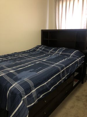 Bed frame with multiple compartments for Sale in San Jose, CA