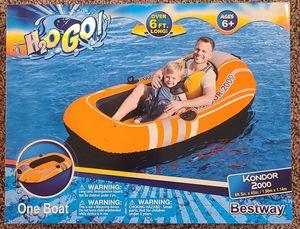 Bestway H2OGO Kondor 2000 inflatable raft for Sale in Tampa, FL