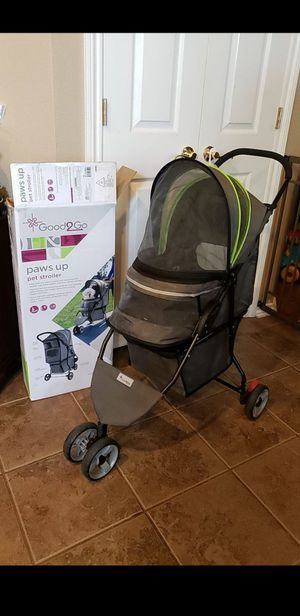 Good 2 Go Paws up Pet Dog Stroller for Sale in Fort Worth, TX