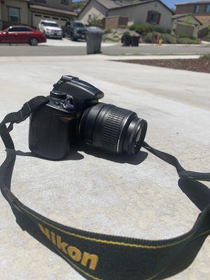 Nixon D5000 Camera for Sale in Temecula, CA