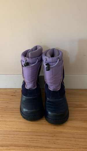 Size 13 Snow Boots For Kids for Sale in San Mateo, CA