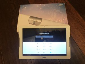 Tablet- Acer Iconia One 10 for Sale in Greer, SC