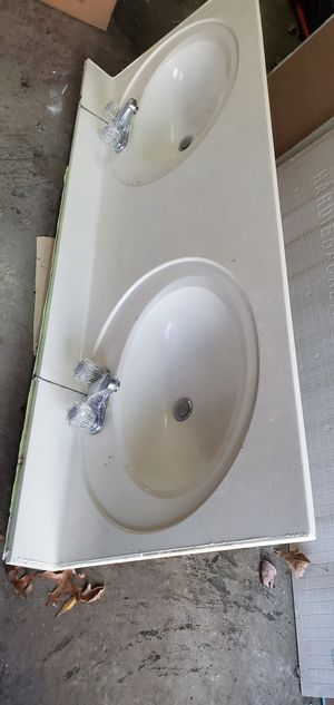 Double bathroom sink for Sale in Harvest, AL