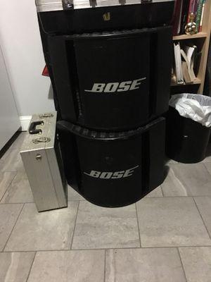 Dj. BOSE power Speakers 🔊 2000 WATTS for Sale in Boston, MA