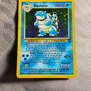 Pokémon Blastoise 2/130 Rare for Sale in Orange, CA