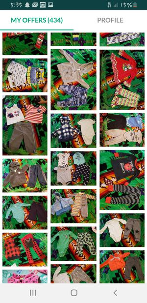 Baby boy clothes! 6mo-12month. for Sale in Tacoma, WA