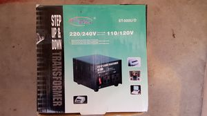 220V to 110V(110-220) transformer for Sale in Portland, OR