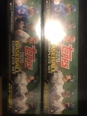 (2) 2020 Topps Baseball Complete Sets 1,400 Cards for Sale in Belle Isle, FL
