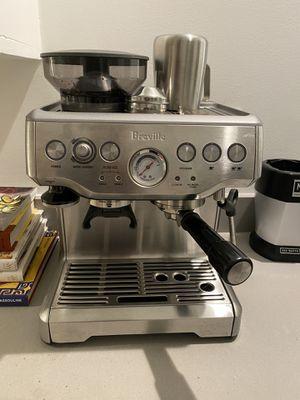 BREVILLE Barista Express Espresso Machine for Sale in San Francisco, CA