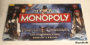 Rare Monopoly Game Pirates of The Caribbean Collectors Edition for Sale in Spokane, WA